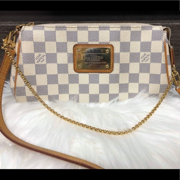 Louis Vuitton Handbags - LOUIS VUITTON DAMIER AZURE EVA VGUC